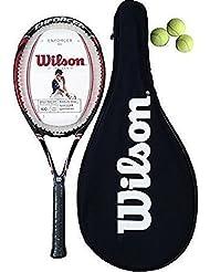 Wilson Ejecutor 100 Raqueta De Tenis + Funda Transporte + 3 Pelotas Tenis (L2)
