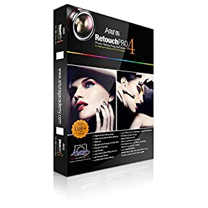Anurag Retouch Pro 4 (Photo Retouching Software) Single User with Dongle