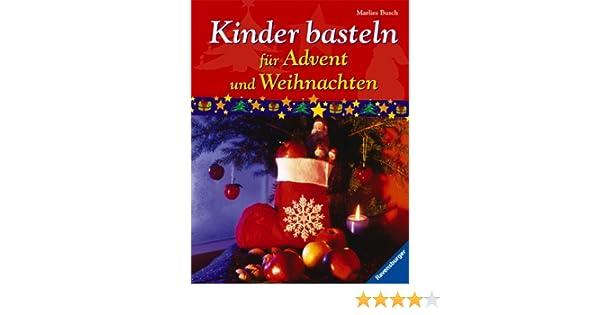 Kinder Basteln Für Advent Und Weihnachten Amazonde