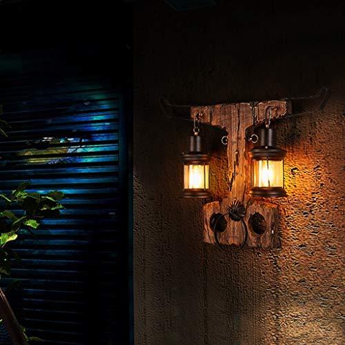 WEI Loft American Style Retro Nostalgie personalisierte Kleidung Industrie Man Cafe Aisle Holz Stud Wandkunst Man Stud