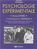 Image de Psychologie expérimentale