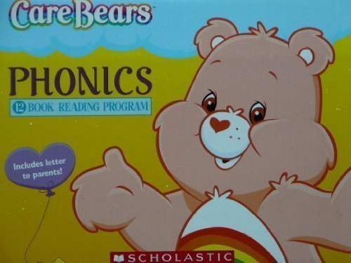 carebears-phonics-12-book-reading-program-scholastic-version