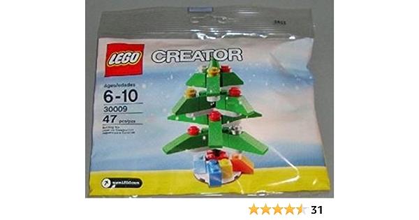 Albero Di Natale Lego.Lego Stagionale Natale Albero Natale Albero Set 30009 Insaccato Amazon It Giochi E Giocattoli
