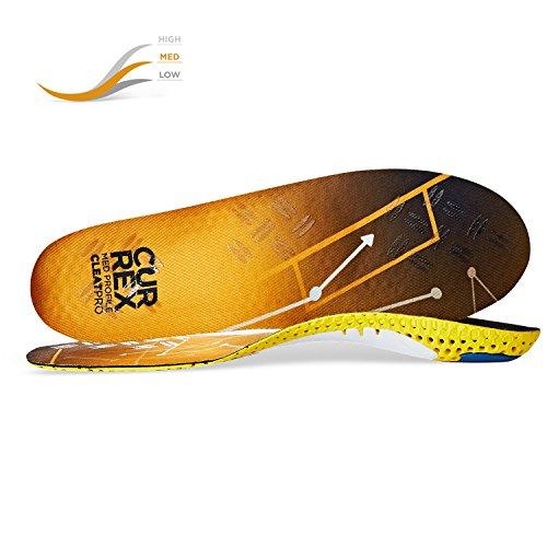 CURREX CleatPro Sohle Med Profile. Deine neue Dimension des Fußballs. Performance Einlegesohle für Fußball- oder Stollen-Schuhe. Gr EU 42-44