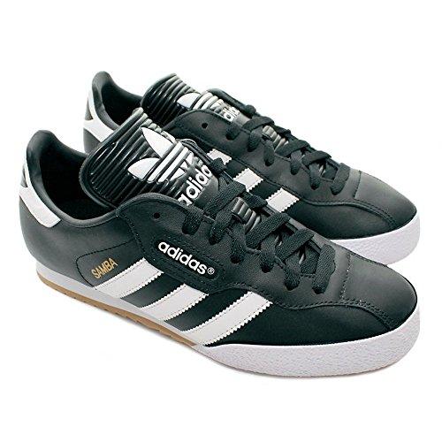 adidas Samba Super, Chaussures de Sport Homme Blk/Wht