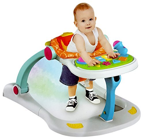 Toyshine 4 in 1 Activity Baby Walker, Activity Center