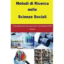 Metodi di Ricerca nelle Scienze Sociali