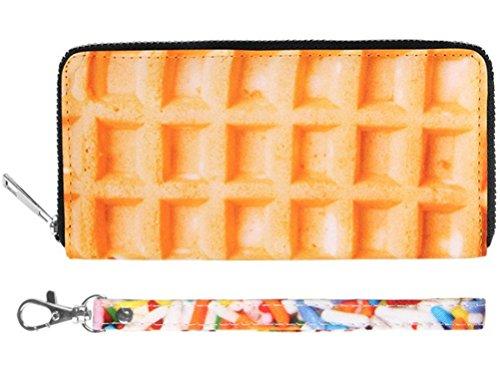 Waffel Candy Geldbörse Clutch Portemonnaie (Candy Geldbörsen)