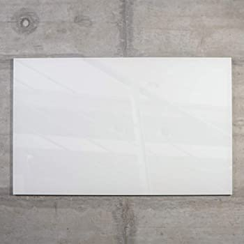glas magnettafel max 50x30 cm wei inkl 5 magnete glasmagnettafel magnetboard magnetwand. Black Bedroom Furniture Sets. Home Design Ideas