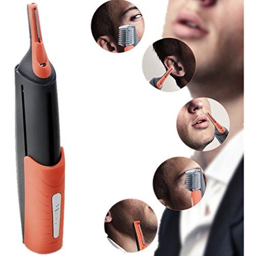 Haar Trimmer Entferner Micro All-in-One-Personal (Nase, Ohr, Augenbrauen, Koteletten) Haar Trimmer Entferner mit LED-Licht
