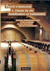 Traité d'oenologie, tome 2 : Chimie du vin