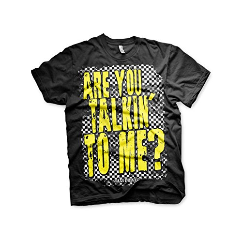 CAMISETA TAXI DRIVER ARE YOU TALKING TO ME? XL