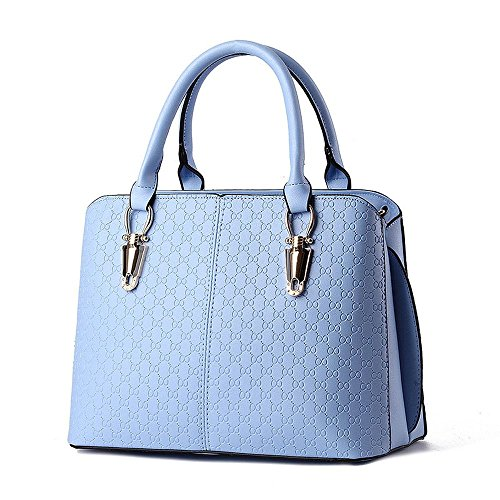 koson-man-womens-simple-sling-tote-bags-top-handle-handbaglightblue