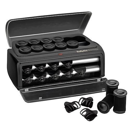 boutique salon - 51XARp7yg 2BL - BaByliss 3133U Boutique Salon Ceramic Rollers, Create dramatic volume and glamorous loose curls/ giving you a stunning look in minutes