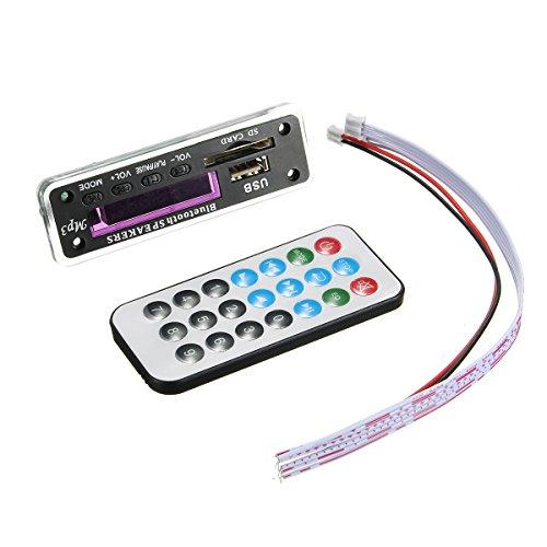 Wma Audio Converter (MYAMIA 5Pcs M01Bt69 12V Drahtlose Bluetooth Mp3 Wma Decoder Board Audio Modul USB TF Radio Für Auto)
