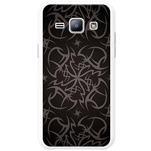 Kult-Tattoo Tribal - Grau Hartschalenhülle Telefonhülle zum Aufstecken für Apple iPhone 6 PLUS / 6s PLUS Kult-Tattoo Tribal - Grau