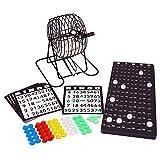 BINGO Lotto Lotto unidad de tambor juego de Bingo y muchos accesorios