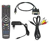 Edision OS mini digitaler HD Kabelreceiver (1x DVB-C/T2, WLAN onboard, 2x USB, HDMI, LAN, Linux and Kartenleser) schwarz -