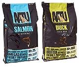 2x 10kg Aatu Multi Buy 80/20Ente und Lachs Trockenfutter für Hunde