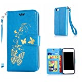 DENDICO Coque iPhone 5C, Pochette en Cuir Etui Housse de Protection, Anti Choc...