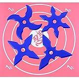 Set Objectivo y Estrella de Ninja Japonese Red Design