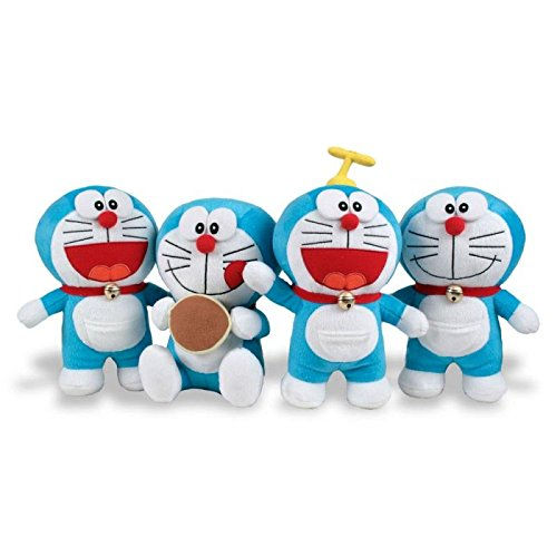 Plush Doraemon Velboa T1 20 / 22cm Assortment