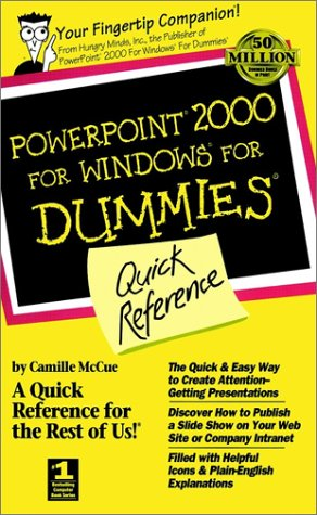 PowerPoint 2000 for Windows for Dummies Quick Reference