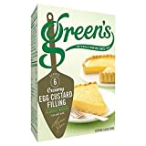 Green's Egg Custard Filling Mix (54g) - Pack of 6
