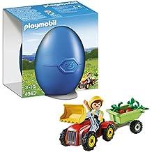 Playmobil Huevos - Niño con tractor, playset (4943)