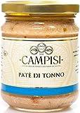 Campisi - Paté di tonno del Mediterraneo 190g -  Specialità Ittiche dalla Sicilia - Qualità e sapore eccellenti