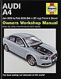 Audi A4 Petrol and Diesel Service and Repair Manual: 2005 to 2008