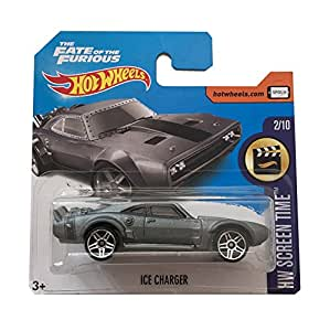 hot wheels ice charger fast and furious 8 short card 2017. Black Bedroom Furniture Sets. Home Design Ideas