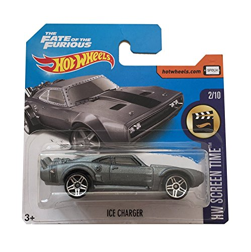 Hot Wheels Ice charger Fast And Furious 8 carta corta 2017