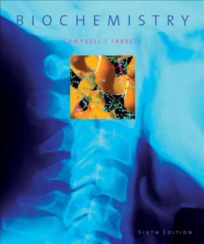 Biochemistry 6th edition by Campbell, Mary K., Farrell, Shawn O. (2007) Hardcover