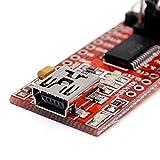USB zu TTL Konverter Modul FT232RL 3,3V/5V - (FTDI Serial Adapter)!