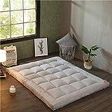 Colchoneta de colchón de confort Estera de Tatami plegable, de gran grosor, grande Fácil