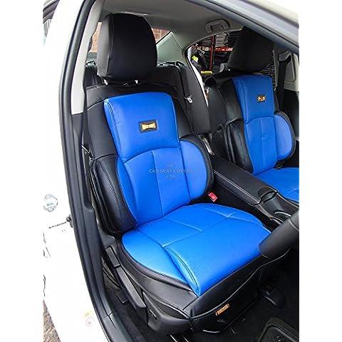 Me–para adaptarse a un Renault Captur Coche, YS02azul/negro, Recaro deportes fundas de asiento