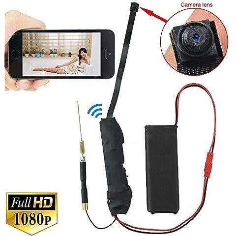 HD 1080P Invisible Spy Camera Mini DIY