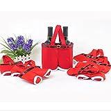 PANGUN Red Nylon Santa Pants Candy Bags Für Christmas Gift Multifunktions-Bar Zubehör