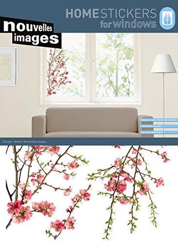 Fenstersticker XXL blühender Apfelbaum