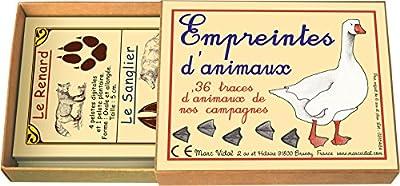 Marc Vidal Empreintes d'animaux