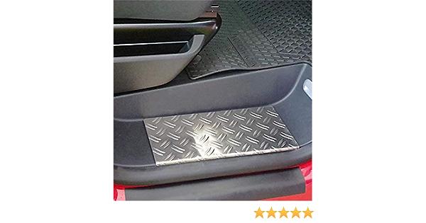 Wgs Alu Riffelblech Trittbretter Trittstufen Mit Abkantung Extra Robust 2063 506 Auto