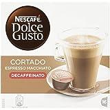 Nescafé Dolce Gusto - Cortado Expresso Macchiato Descafeinado - Cápsulas de café - 16 cápsulas