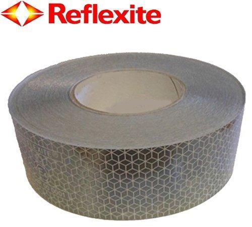 Orafol - Oralite VC104 Reflektierendes Warnband / Tape weiß (Reflexite ECE104 konform) (Reflektierende Lkw-tape)