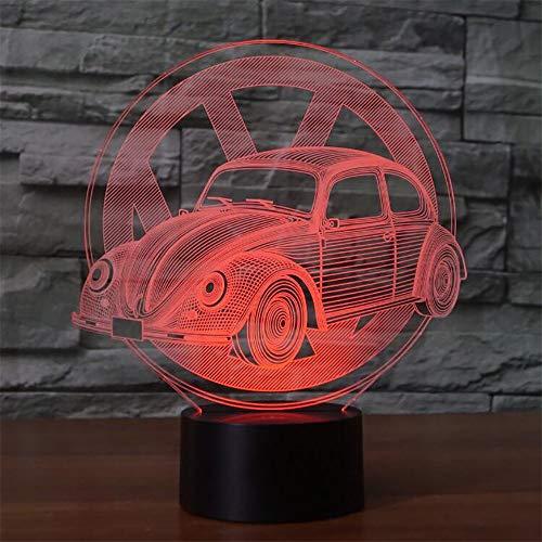 3D G le Viual 7 Color Diing leep Luz de noche Juguete infantil Decoración de luz ## 7