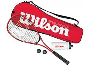 WILSON Kit de Squash pour Débutant