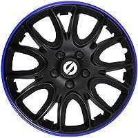 Eight Tec Handelsagentur Bundle universal Farbe /& Gr/ö/ße w/ählbar passend f/ür Fast alle Fahrzeugtypen 13 Zoll Radkappen Radblenden ATS002 Bicolor Schwarz//Blau