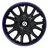 Sparco SPC1594BKBL Satz Radzierblenden Veneto 15-Zoll Schwarz/Blau, Blue