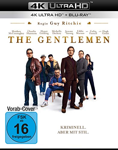 The Gentlemen (4K Ultra HD) (+ Blu-ray 2D)