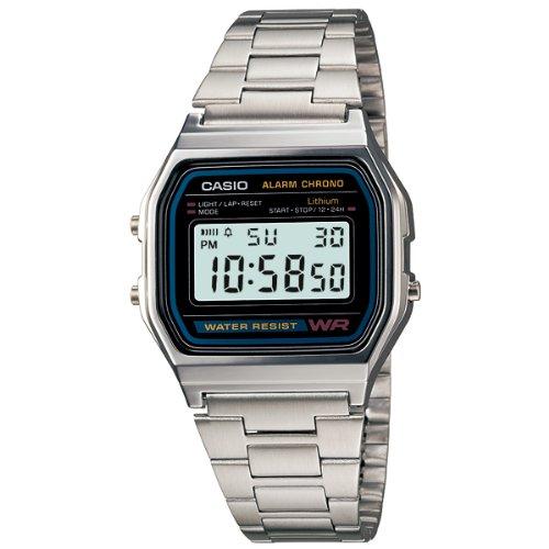 Casio A158WEA-1EF Retro Uhr Digital
